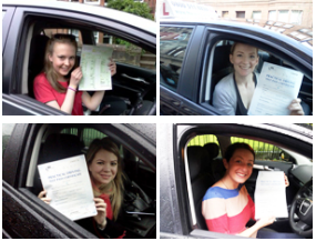 Glasgow west end driving test passes