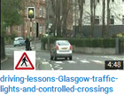 Traffic lights and crossings