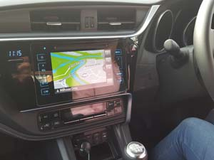 Driving Test Sat Nav on trial