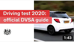 Driving test for cars 2020